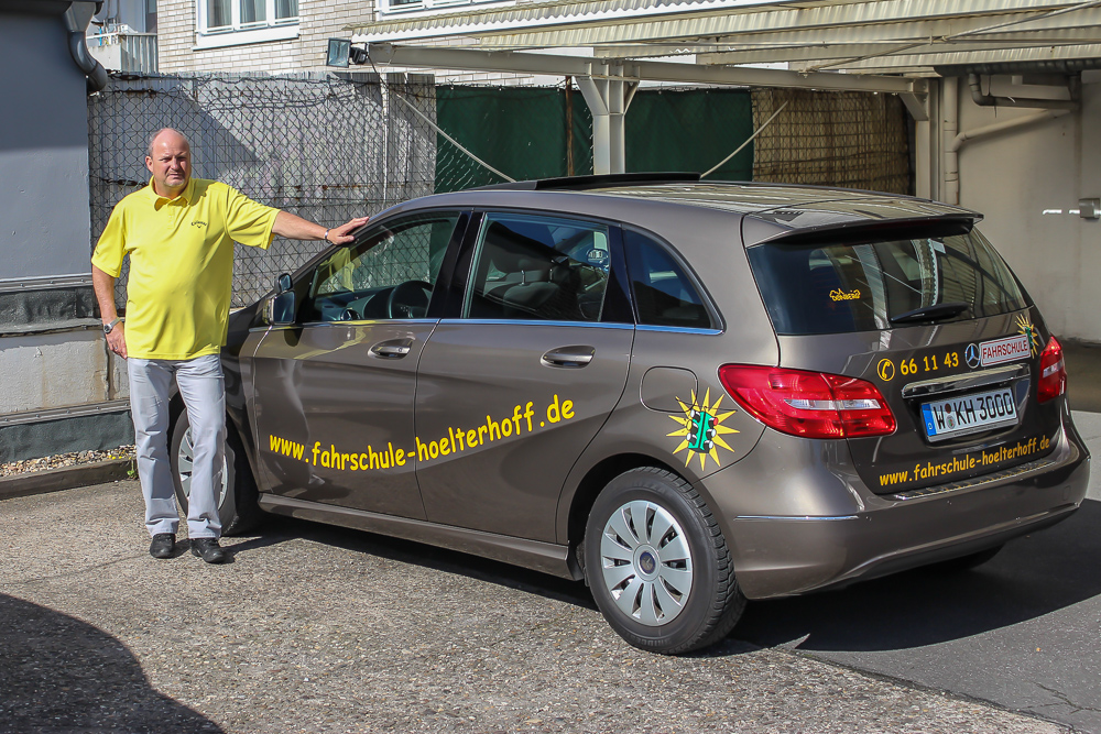 Fahrschule Hölterhoff 2014 - Fahrlehrer Rüdiger Hebestreit