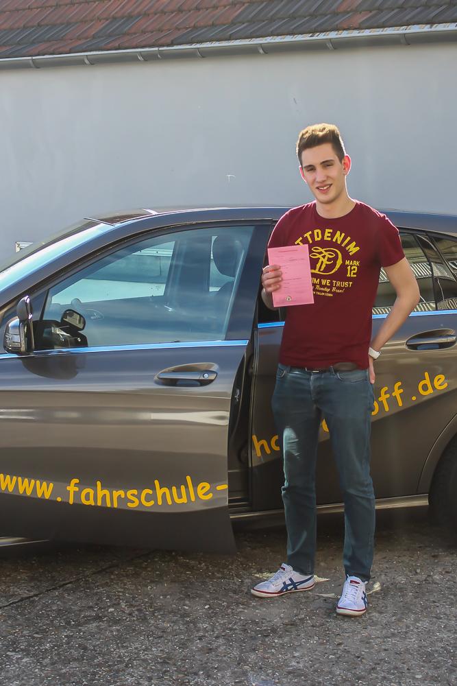 Fahrschule Hölterhoff 2014: Junge Fahrer
