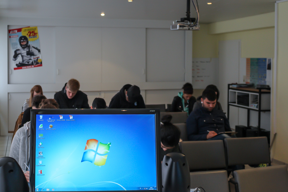 Fahrschule Hölterhoff 2014:  Räumlichkeiten